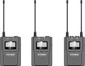 Synco Audio - Lavalier Draadloze Microfoonset WMic-T2