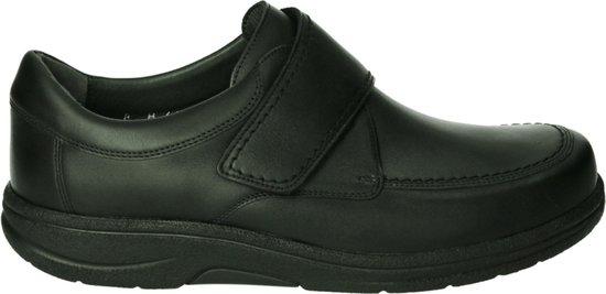 Strober Mannen Veterschoenen Kleur: Zwart Maat: 45