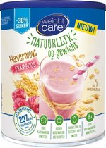 Weight Care Havershake Drinkmaaltijd - Framboos - 440 gr