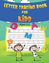 Letter Tracing Books for Kids Ages 3-5
