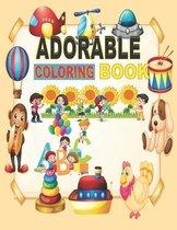 Adorable Coloring Book