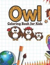 Owl Coloring Book for Kids