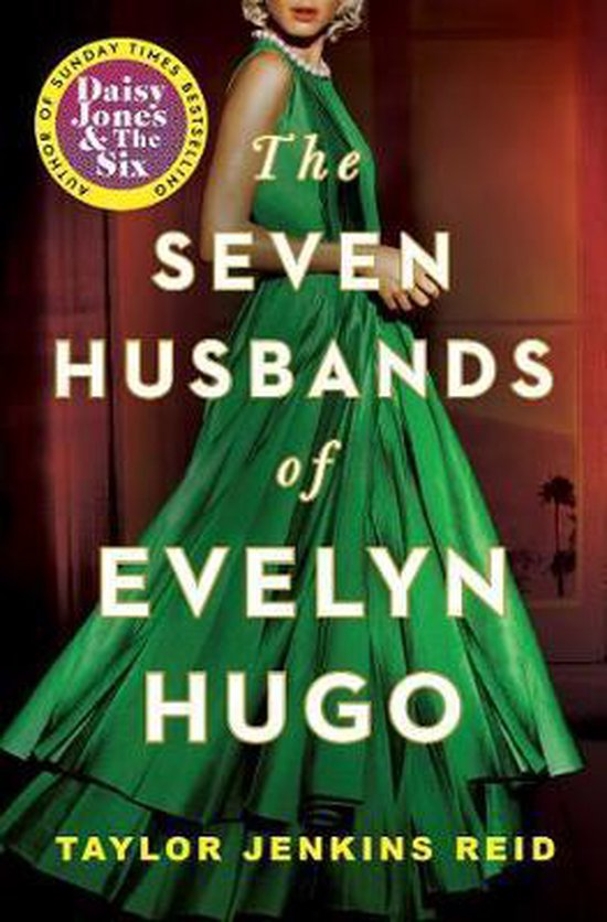 Boek cover The Seven Husbands of Evelyn Hugo van Taylor Jenkins Reid (Paperback)
