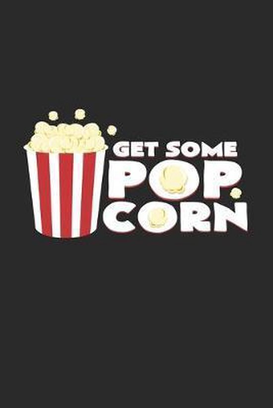 Get some popcorn: 6x9 Movies - dotgrid - dot grid paper - notebook - notes
