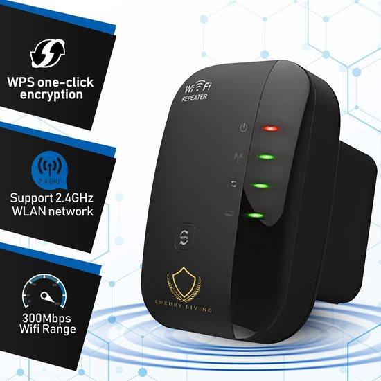 Wifi versterker stopcontact - Wifi Versterker Draadloos - Wifi - Wifi repeater - Wifi extender -