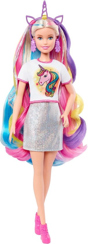Barbie Tienerpop Fantasy Hair Meisjes 30 Cm 12-delig