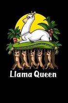 Llama Queen: Cute Llama Notebook