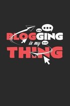 Blogging is my thing: 6x9 Blogging - dotgrid - dot grid paper - notebook - notes