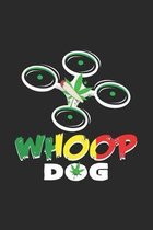 Whoop Dog: 6x9 Whoop - dotgrid - dot grid paper - notebook - notes