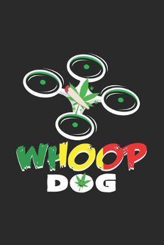 Whoop Dog: 6x9 Whoop - dotgrid - dot grid paper - notebook - notes