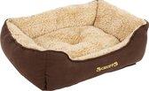 Scruffs Cosy Comfortabele Hondenmand - Bruin - Small 50 x 40 cm