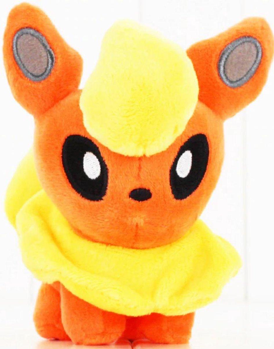Knuffel Pokemon Flareon - bekend van de TV - creator - Pokémon - pokéball - speelgoed - Plushe