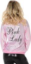 Karnival Costumes Verkleedkleding Stoer Pink Lady jasje Sandy - M
