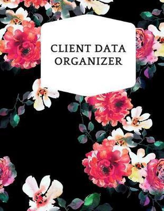 Client Data Organizer: Smart Alphabetical Client Tracker- Professional Business To do list Book for Hair Stylist, Therapist & Nails Stylist-
