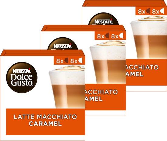 Nescafé Dolce Gusto capsules Caramel Macchiato - 48 koffiecups - geschikt voor 24 koppen koffie