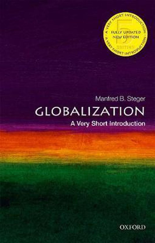 Boek cover Globalization van Manfred B. Steger (Paperback)