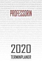 Professorin - 2020 Terminplaner