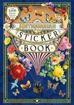 Boek cover The Antiquarian Sticker Book van Odd Dot