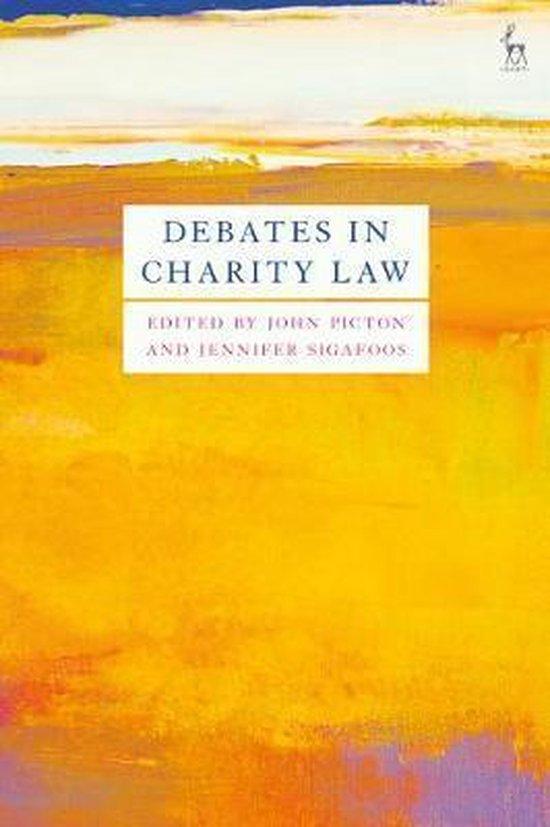 Debates in Charity Law