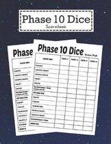 Phase 10 Dice Scorebook: Phase Ten Card Game