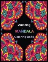 Amazing MANDALA Coloring Book