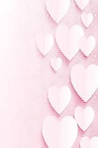 Notebook full of hearts: Notebook with lots of love
