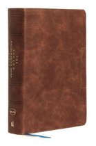 NKJV, Lucado Encouraging Word Bible, Leathersoft, Brown, Thumb Indexed, Comfort Print