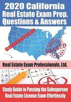 2020 California Real Estate Exam Prep Questions & Answers