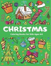 Christmas Coloring Book for Kids Ageg 4-8