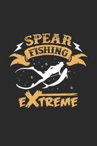 Spearfishing extreme: 6x9 Spearfishing - dotgrid - dot grid paper - notebook - notes