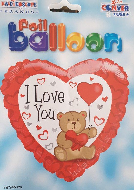 hart ballon i love you