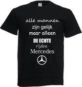 Mercedes shirt zwart maat L