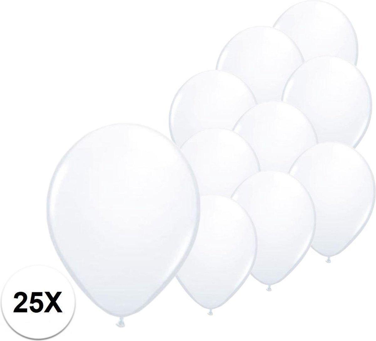 Witte Ballonnen Verjaardag Versiering Witte Helium Ballonnen Bruiloft Feest Versiering EK WK Konings