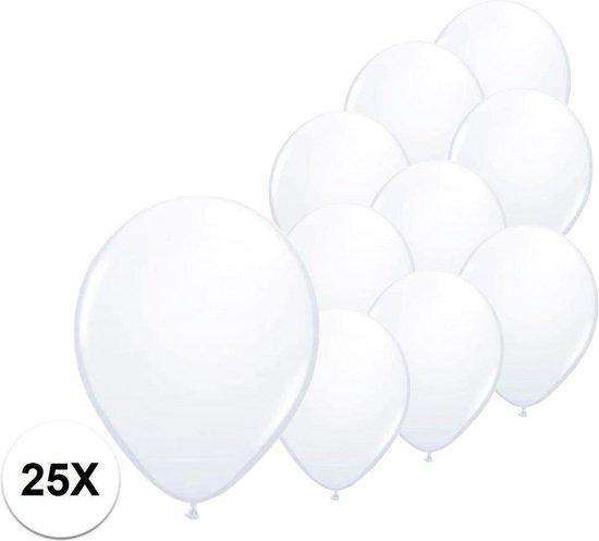 Witte Ballonnen Feestversiering Verjaardag 25st Bruiloft Ballon