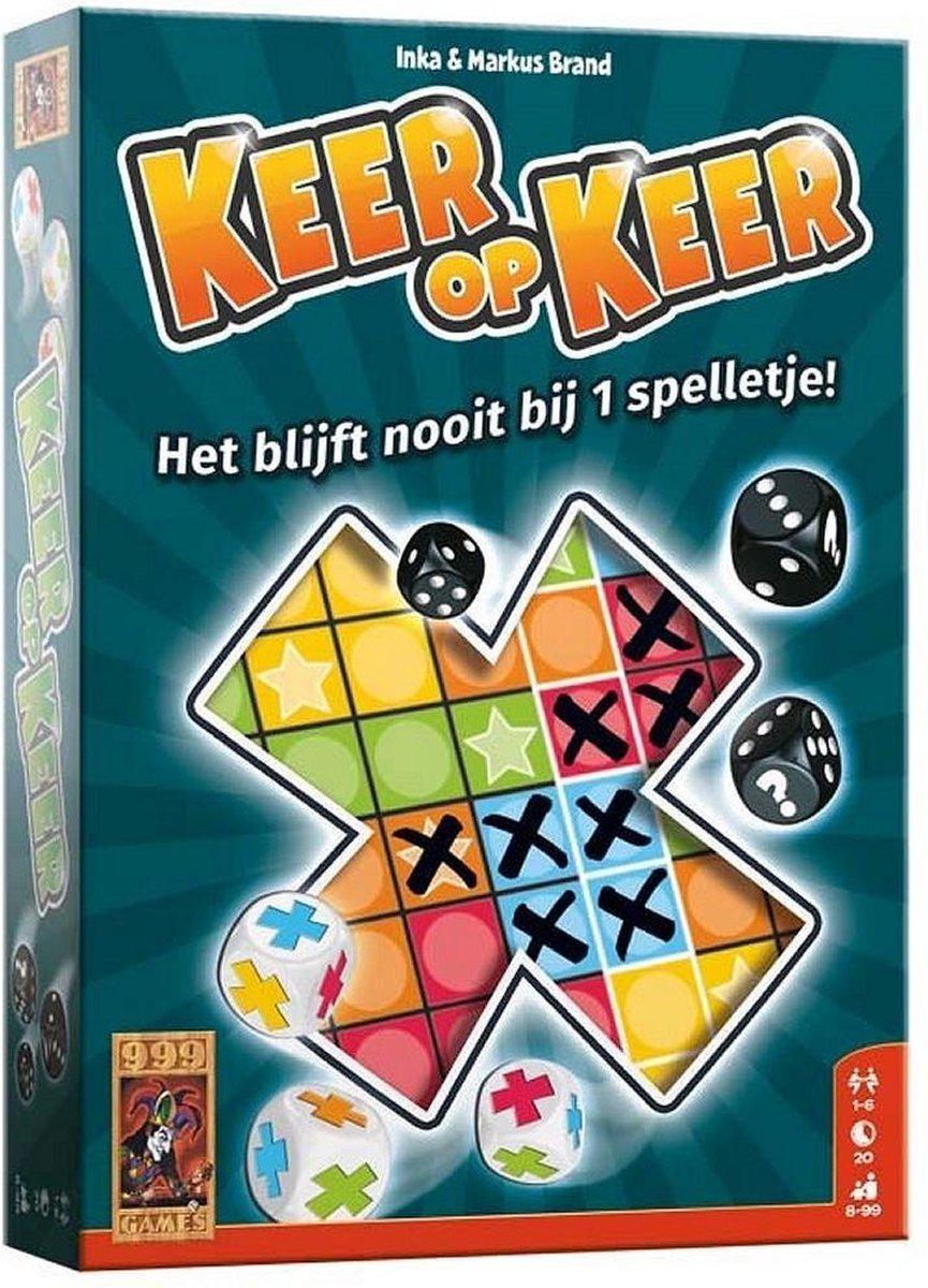 Keer op keer - Dobbelspel - 999 Games