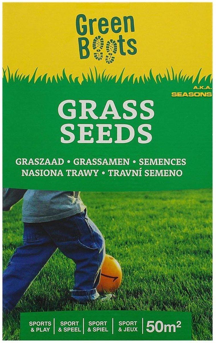 GRASZAAD 1 KILO - HOGE KWALITEIT - GRAS - MEST - TUIN - ONDERHOUD - grastapijt - geen kunstgras