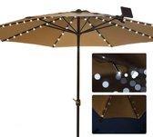 Buitenlamp Parasol verlichting – solar – parasol lamp – tuinverlichting – buitenlamp – zonne-energie – parasol led – led buiten – tuinverlichting solar