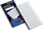 ATLANTA Bedrijfsformulieren Kilometerregistratie 297 x 125 mm, 40 vels (pak van 5 stuks)