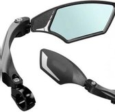 Mirage Luxe Fietsspiegel Rechts - Licht Dimmend Glas - Voor Speed Pedelec / Elektrische Fiets