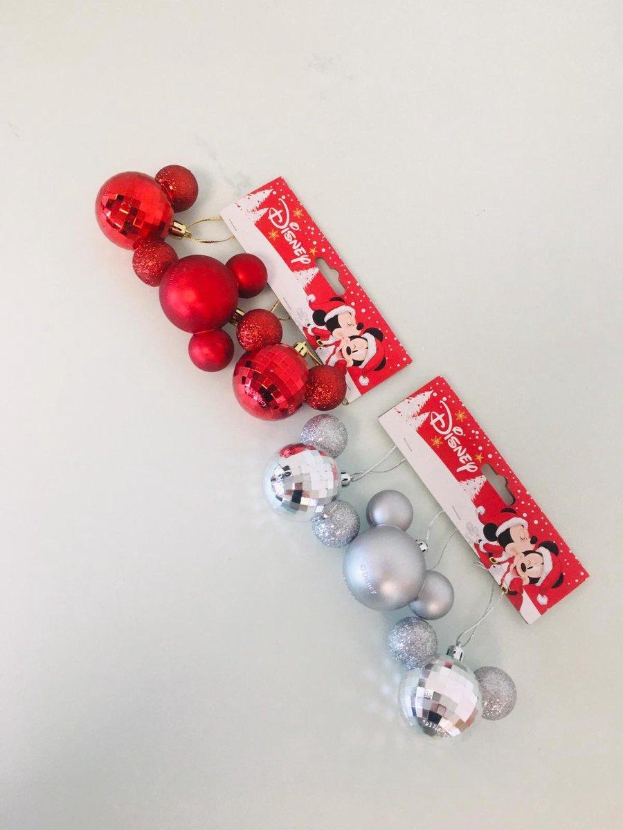 disney mickey mouse kerstballen (2 stuks) kopen