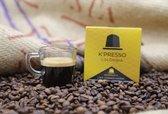 K'Presso Koffie - 1 doos met 10 cups - Oorsprong koffiebonen: Colombia - Intensiteit: 7
