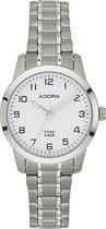 Dames horloge / Adora AB6472 volledig titanium