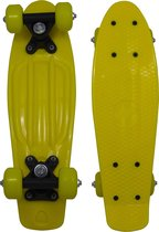 "RiDD - Pennyboard - geel - skate - board - 17"" inch - 43 cm"
