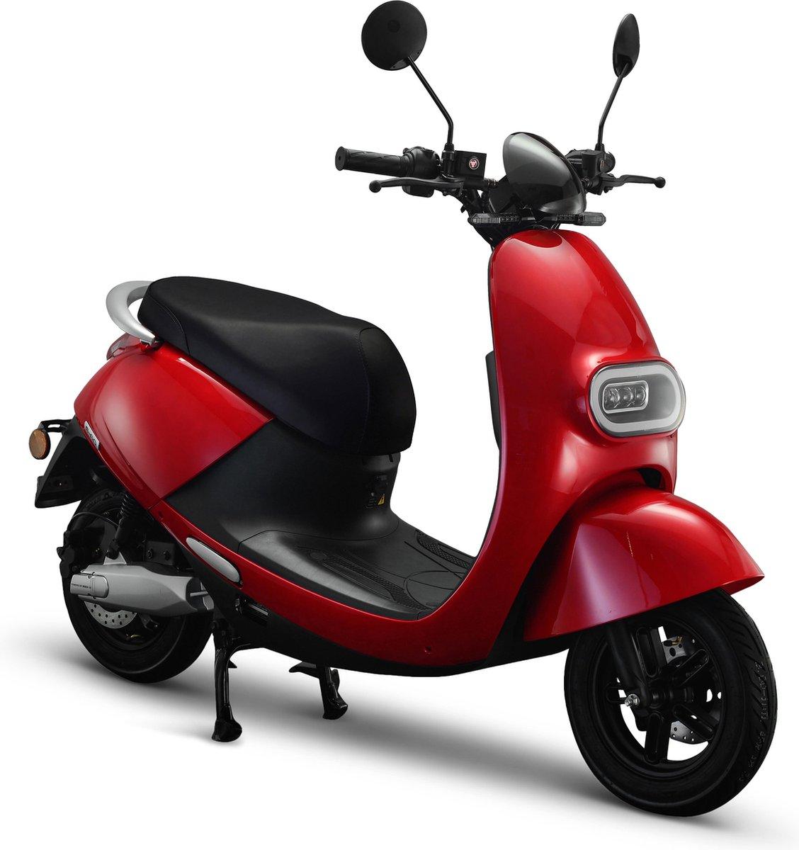 IVA E-GO S3 Elektrische Scooter Rood