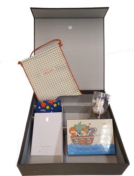 Baby Memory Box - Grey Linnen - zoon