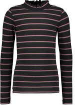 B. Nosy Meisjes T-shirt - YDS Sparkling Stripe - Maat 122/128