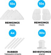 Arclit® | Magnetische Ramenwasser Sponzen Set | 64-delig  | Accessoires Navulling kit