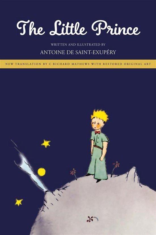 Boek cover The Little Prince van Antoine de Saint-Exupéry (Onbekend)