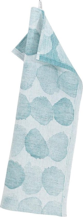 Lapuan Kankurit SADE theedoek white-turquoise - 46x70