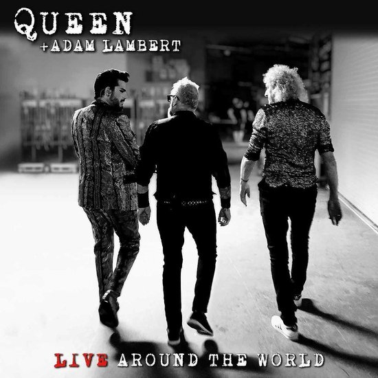 CD cover van Live Around The World (CD+DVD) van Queen